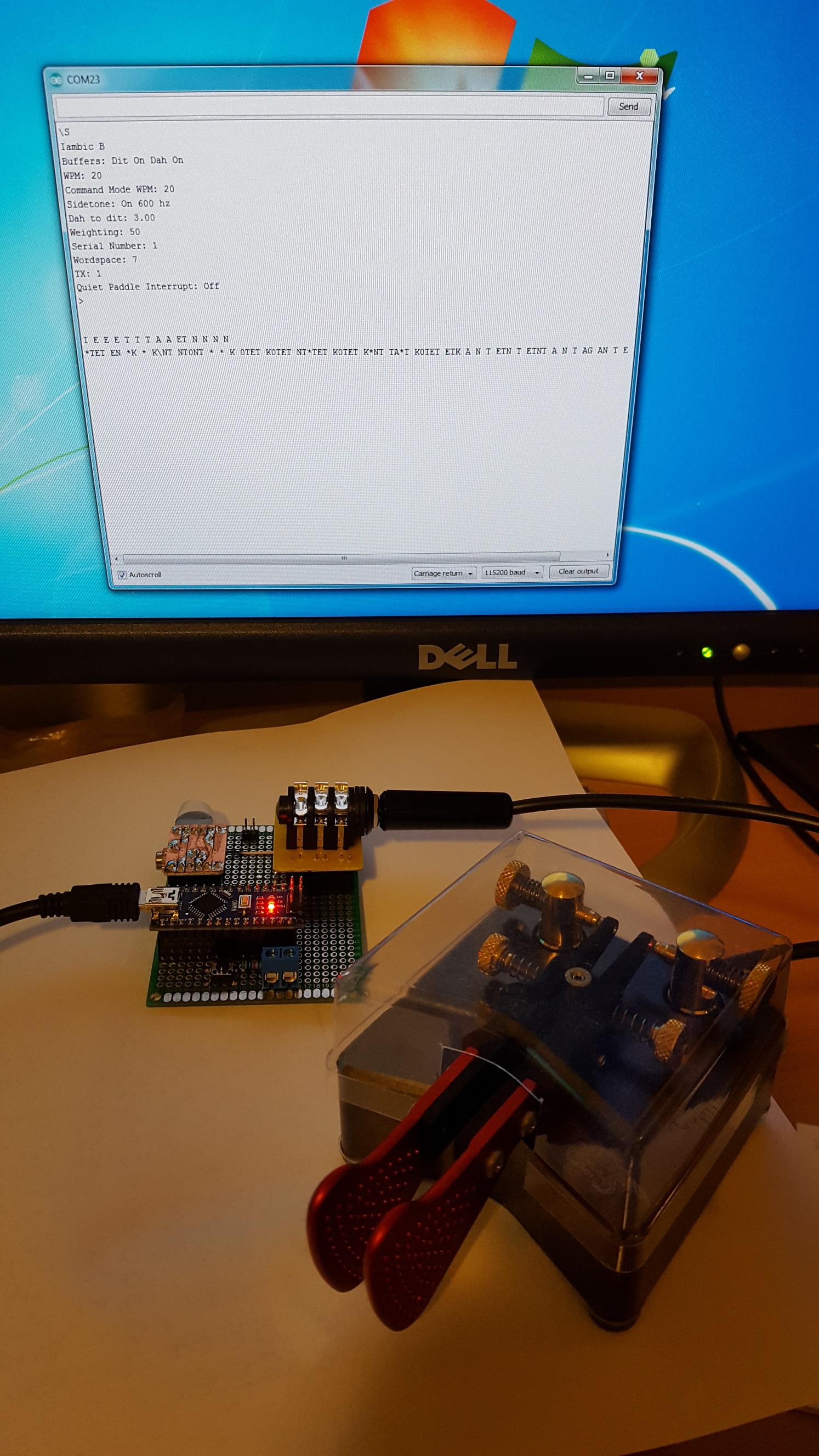 K0tet Arduino Keyer Simple Electronic Practice V2